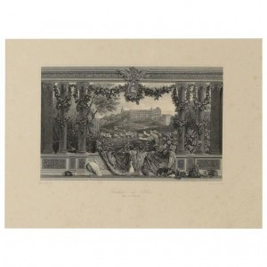 Paire of Engravings Representing the Chateau de Blois and the Chateau de Vincennes Engraved by Skelton