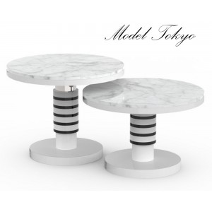 Ceramic coffee table Model Paris