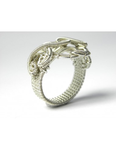 """Handcrafted Silver Ring """"Audrey Hepburn"""""""