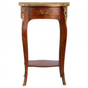 Small Louis XV style Table in Rosewood marquetry