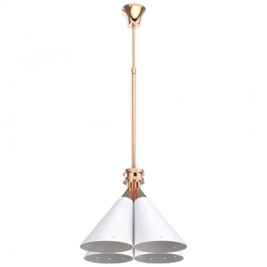 Pendant Light with Copper Detail