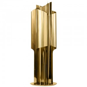 Table Lamp in Polished Brass