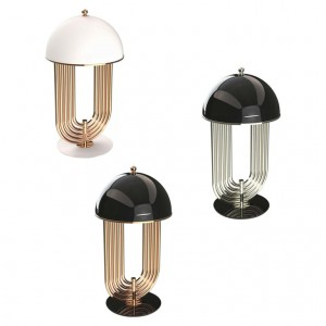 Table Lamp in Brass