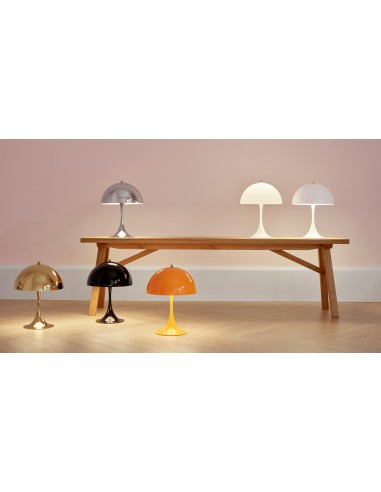 Louis Poulsen, MINI Table Color Lamp by Verner Panton