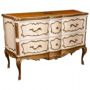 Commode, Style Louis XV, Années 50