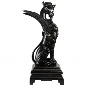 Chimera, Carved Wood Console
