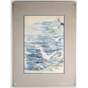 Monotype by Luez, Framed Under Glass