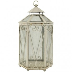 Lantern forming a miniature greenhouse