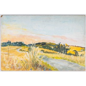 Landscape of a Flowered Road, 20th century