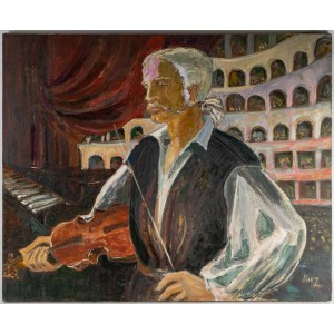 The Cellist in Concert, 20th century