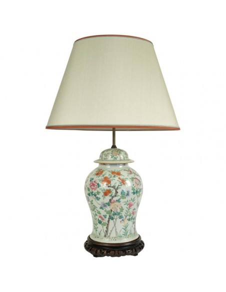 Important Chinese Porcelain lamp