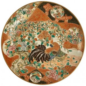 Japanese Plate made around 1900 - 1920