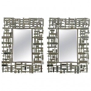 Pair Of Mirrors, Modern Art