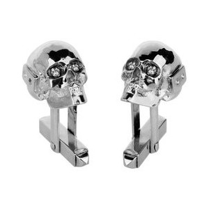 Pair of Cufflinks, Death's Head