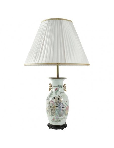 Chinese lamp from the early 20th century