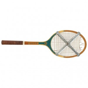 Tennis Racket, Miss Go, Pro, Middle Of The Twentieth Century.