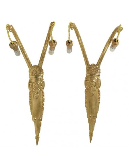 A Pair Of sconces 1930, Art Deco Period.
