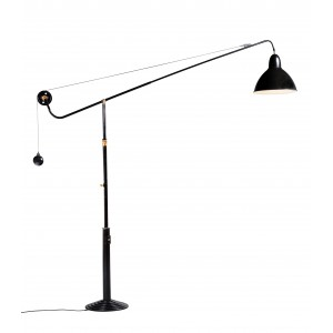 Architect Lamp, Model 1900 on Stand, Telescopic, Turning at 340°