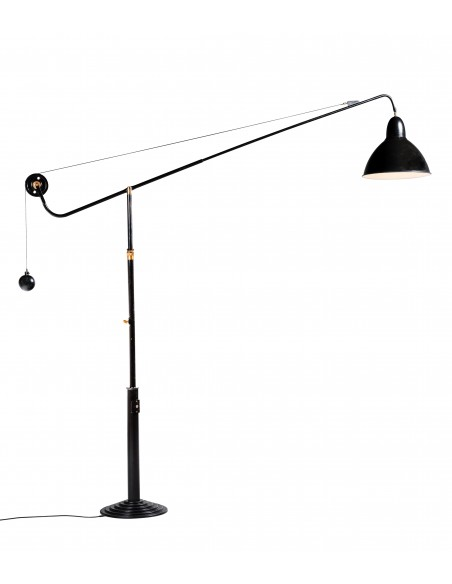 Architect Lamp, Model 1900 on Stand, Telescopic, Turning at 360°