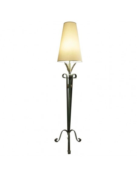 wrought iron floor lamp years 1940