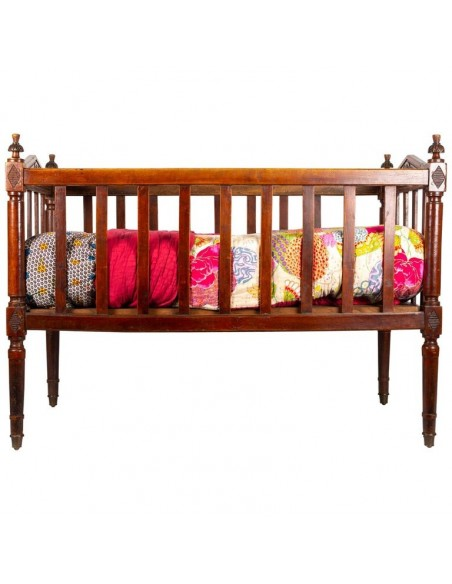 18th Century Baby Bed in Walnut