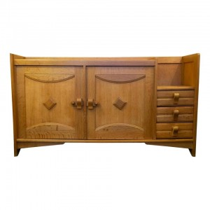 Guillerme and Chambron sideboard, 1960, Oak