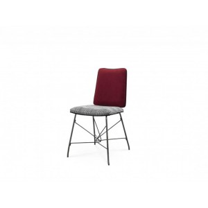 Dining Chair Black Nickel Stainless Steel Legs