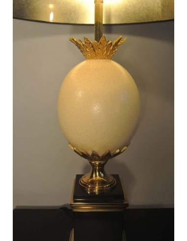 Beautiful 'austrian Egg' Lamp From Maison Charles