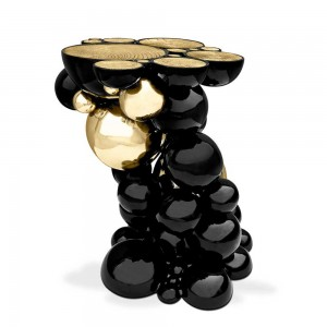 Pedestal table, Side table, Modern Art, Design