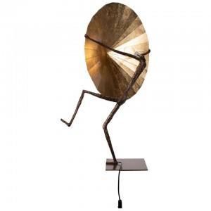 Table Lamp by L'Artiste Fantôme in Bronze