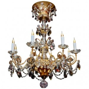 Chandelier of Maison Bagues, 1940