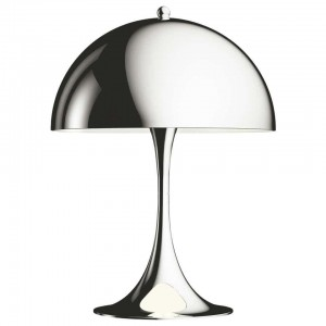 Louis Poulsen, Lampe de Table MINI en Acier par Verner Panton