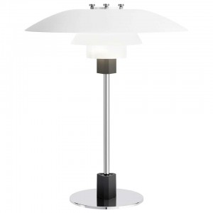 Louis Poulsen, Large Metal Table Light by Poul Henningsen