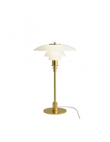 Louis Poulsen, Medium Glass Table Light by Poul Henningsen