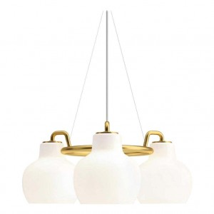 Louis Poulsen, Pendant 3 Light by Vilhelm Lauritzen