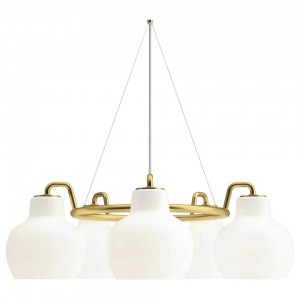 Louis Poulsen, Pendant 5 Light by Vilhelm Lauritzen