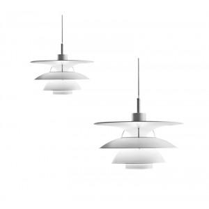 Louis Poulsen, 466/650 Pendant Light by Poul Henningsen