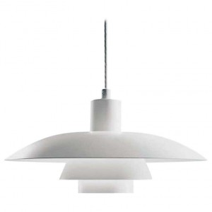 Louis Poulsen, Large Metal Pendant Light by Poul Henningsen